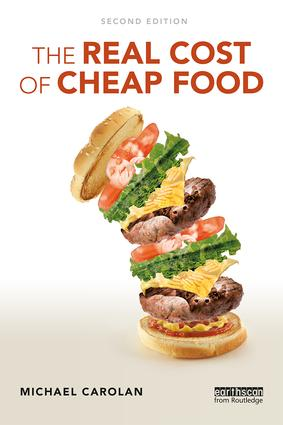 The Real Cost of Cheap Food: 2nd Edition (Paperback) book cover