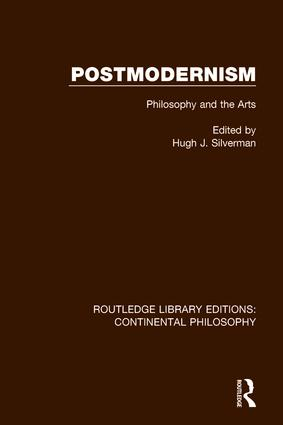 Postmodernism: Philosophy and the Arts book cover