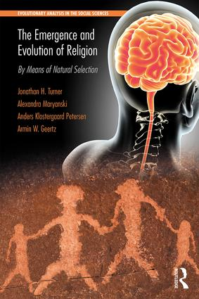 The Emergence and Evolution of Religion: By Means of Natural Selection (Paperback) book cover