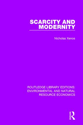 Scarcity and Modernity book cover