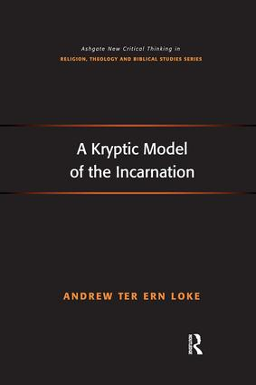 A Kryptic Model of the Incarnation: 1st Edition (Paperback) book cover