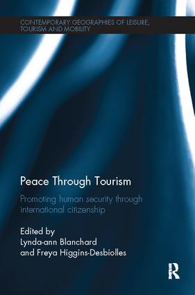 Peace through Tourism: Promoting Human Security Through International Citizenship, 1st Edition (Paperback) book cover