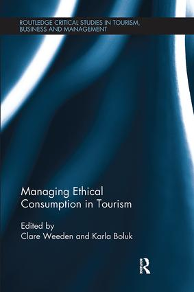 Managing Ethical Consumption in Tourism book cover