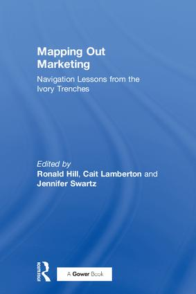 Mapping Out Marketing: Navigation Lessons from the Ivory Trenches book cover