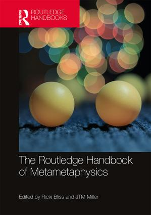 The Routledge Handbook of Metametaphysics book cover