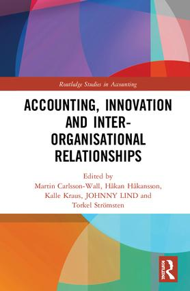 Accounting, Innovation and Inter-Organisational Relationships book cover