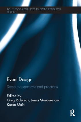 Event Design: Social perspectives and practices, 1st Edition (Paperback) book cover
