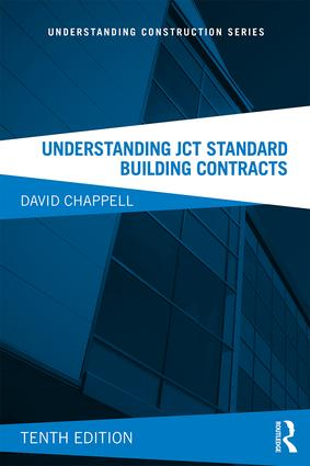 Understanding JCT Standard Building Contracts book cover