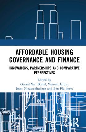 Affordable Housing Governance and Finance: Innovations, partnerships and comparative perspectives book cover