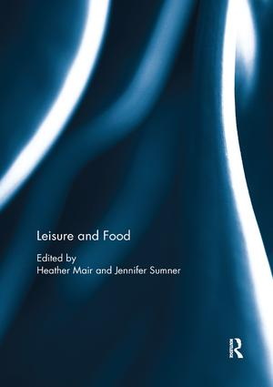 Leisure and Food: 1st Edition (Paperback) book cover