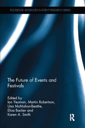 The Future of Events & Festivals book cover
