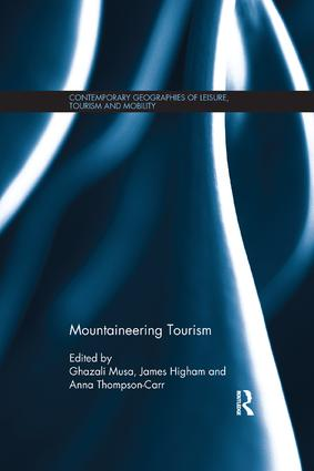 Mountaineering Tourism: 1st Edition (e-Book) book cover