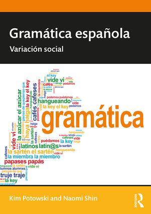 Gramática española: Variación social book cover