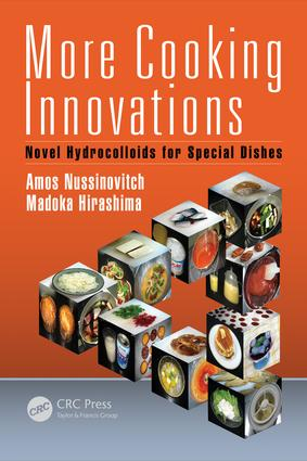 More Cooking Innovations: Novel Hydrocolloids for Special Dishes book cover