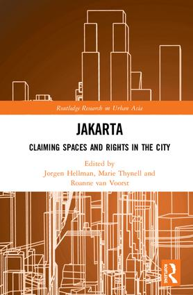 Jakarta: Claiming spaces and rights in the city book cover