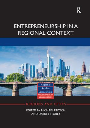 Entrepreneurship in a Regional Context: 1st Edition (Paperback) book cover