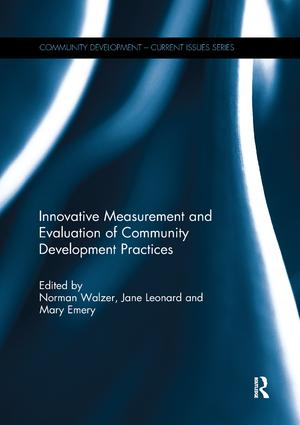 Innovative Measurement and Evaluation of Community Development Practices book cover