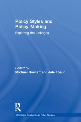 Policy Styles and Policy-Making: Exploring the Linkages book cover