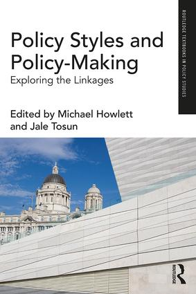 Policy Styles and Policy-Making: Exploring the Linkages, 1st Edition (Paperback) book cover