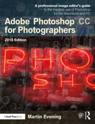 Adobe Photoshop CC for Photographers 2018 book cover