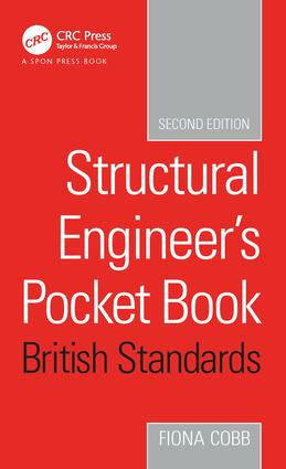 Structural Engineer's Pocket Book, 2nd Edition: British Standards, 1st Edition (Paperback) book cover