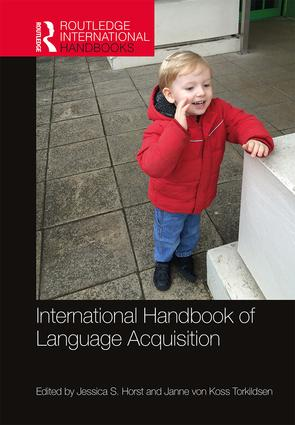 International Handbook of Language Acquisition book cover