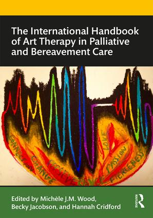 The International Handbook of Art Therapy in Palliative and Bereavement Care: 1st Edition (Paperback) book cover