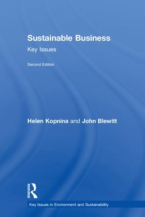 Sustainable Business: Key Issues book cover