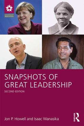 Snapshots of Great Leadership: 2nd Edition (Paperback) book cover