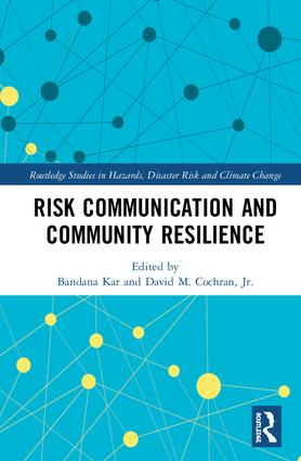 Risk Communication and Community Resilience book cover