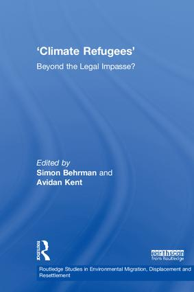 Climate Refugees: Beyond the Legal Impasse? book cover