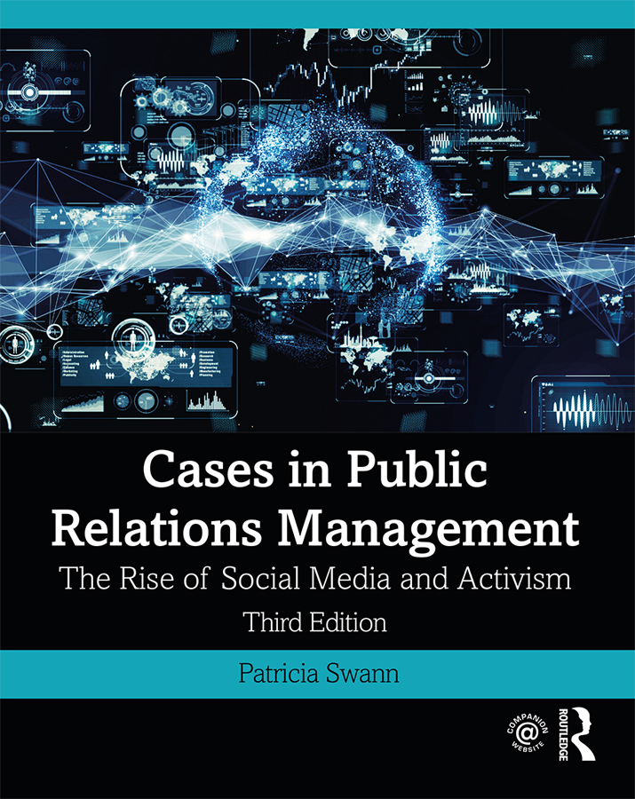 Cases in Public Relations Management: The Rise of Social Media and Activism book cover