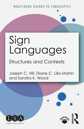 Sign Languages: Structures and Contexts book cover
