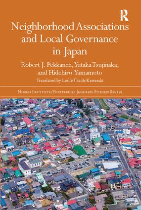 Neighborhood Associations and Local Governance in Japan: 1st Edition (Paperback) book cover