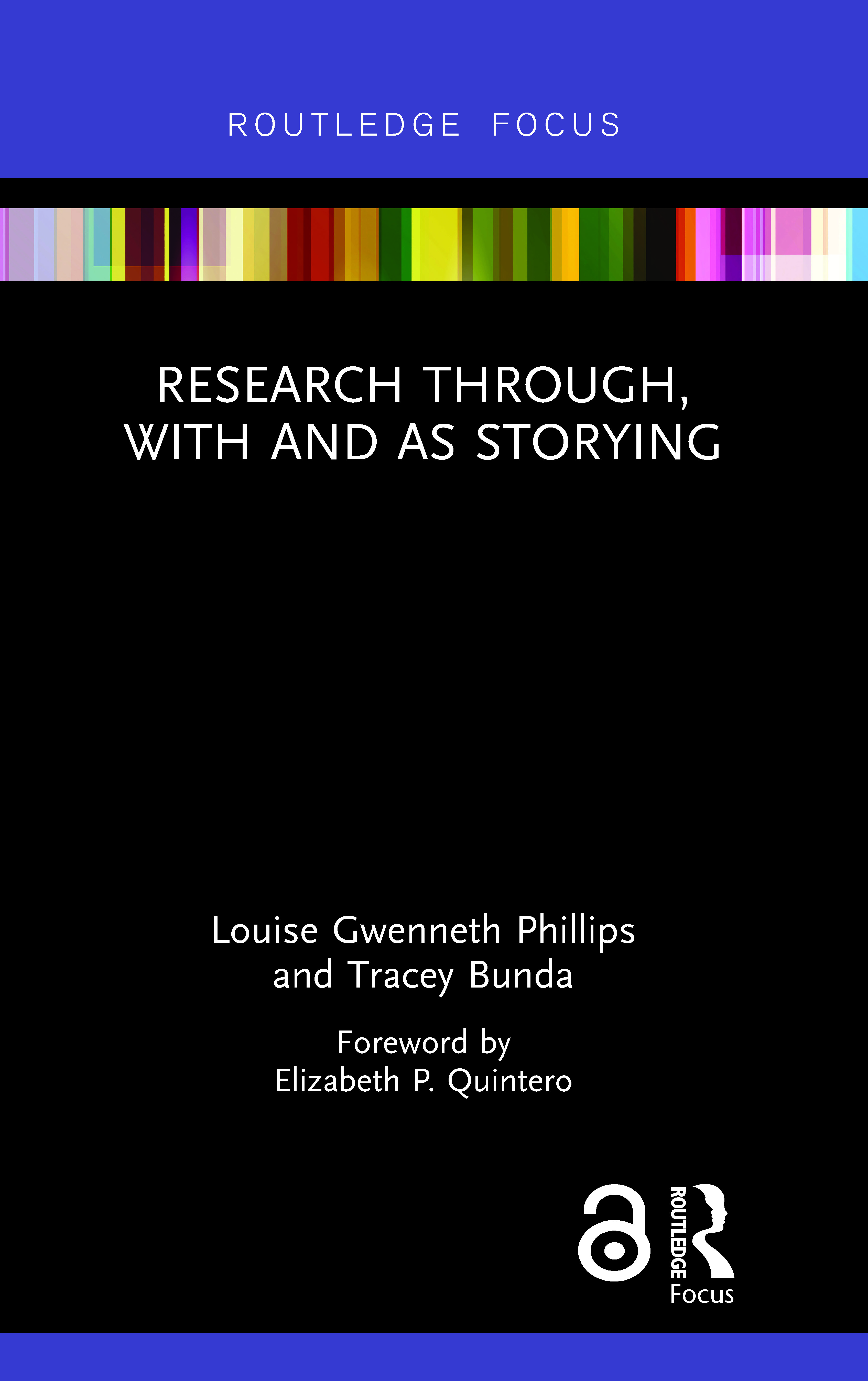 Research Through, With and As Storying (Hardback) book cover