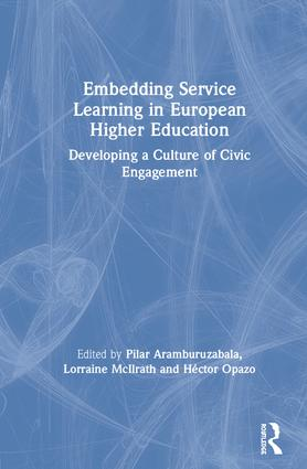 Embedding Service Learning in European Higher Education: Developing a Culture of Civic Engagement book cover