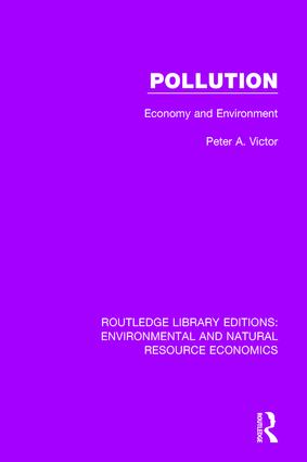 Pollution: Economy and Environment, 1st Edition (Paperback) book cover