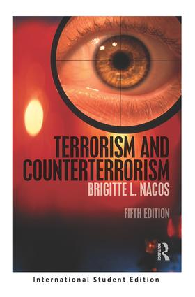 Terrorism and Counterterrorism: International Student Edition, 5th Edition (International Edition Paperback) book cover