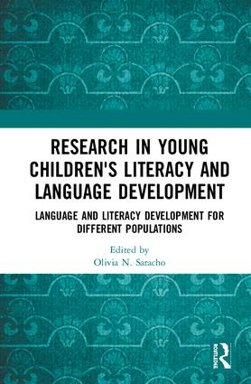 Research in Young Children's Literacy and Language Development: Language and literacy development for different populations, 1st Edition (Hardback) book cover
