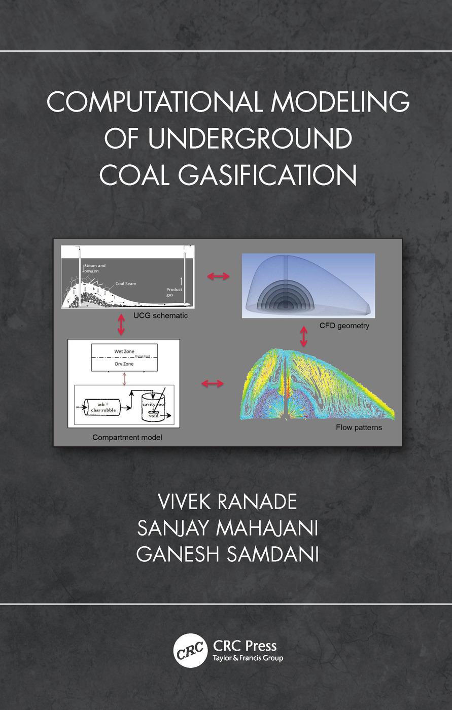 Computational Modeling of Underground Coal Gasification: 1st Edition (Hardback) book cover