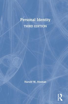 Personal Identity book cover