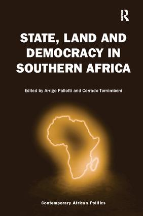 State, Land and Democracy in Southern Africa: 1st Edition (Paperback) book cover
