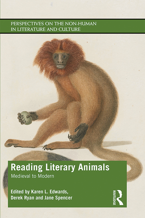 Reading Literary Animals: Medieval to Modern book cover