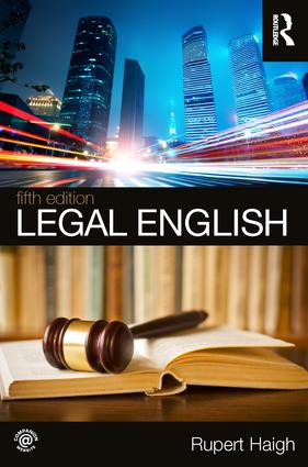 Legal English book cover
