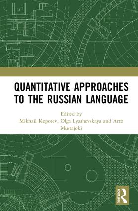 Quantitative Approaches to the Russian Language book cover