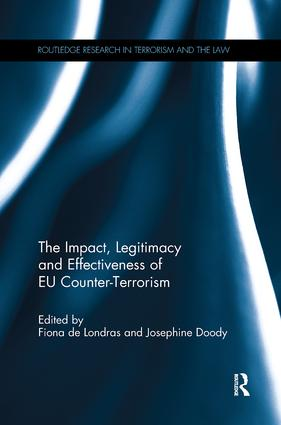 The Impact, Legitimacy and Effectiveness of EU Counter-Terrorism book cover