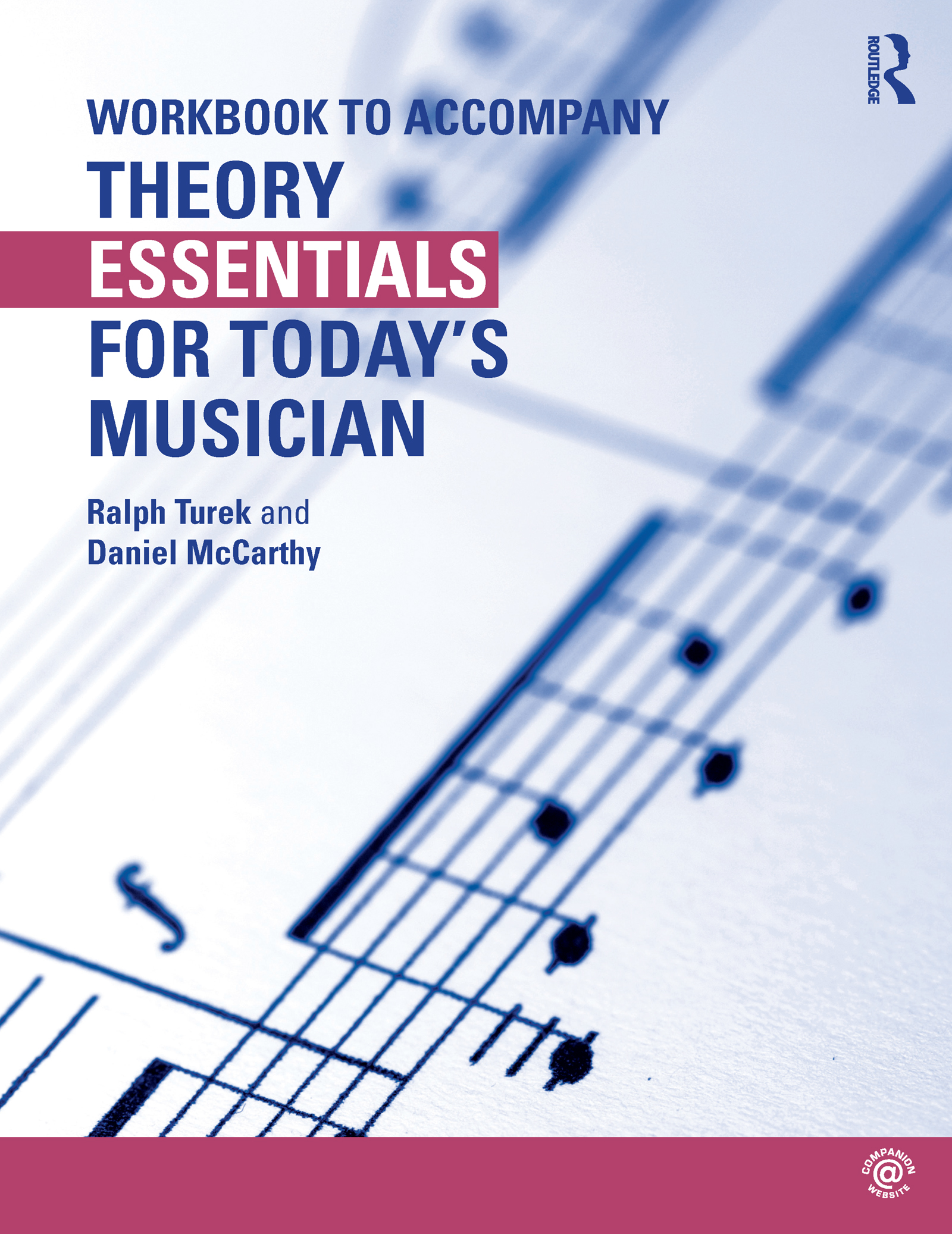 Theory Essentials for Today's Musician (Workbook) (Paperback) book cover