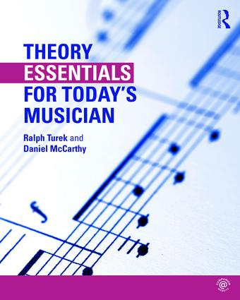 Theory Essentials for Today's Musician (Textbook and Workbook Package) book cover