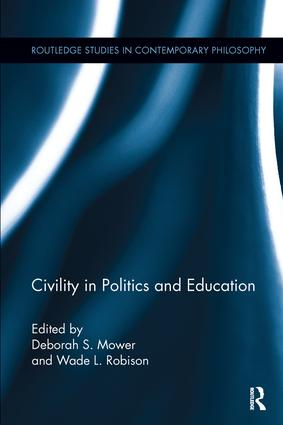Civility in Politics and Education book cover