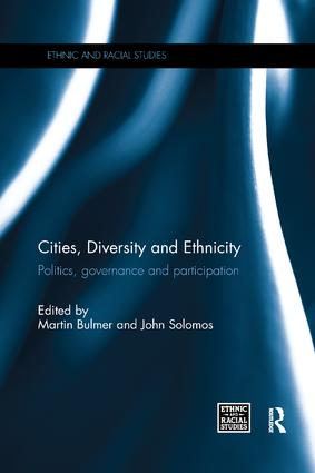 Cities, Diversity and Ethnicity: Politics, Governance and Participation book cover